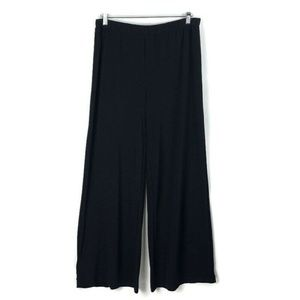 Chico's Casual Pants Pull on Black Slinky Stretchy